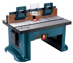 Rigid Base Plate Router table