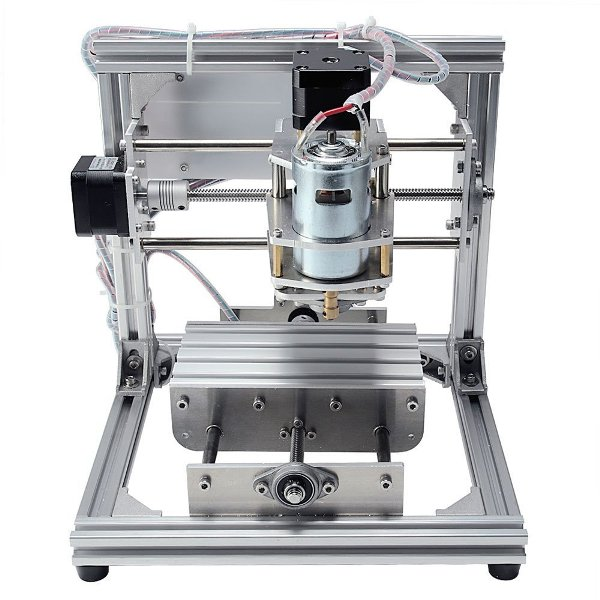 A DIY CNC Router Kit product from the back