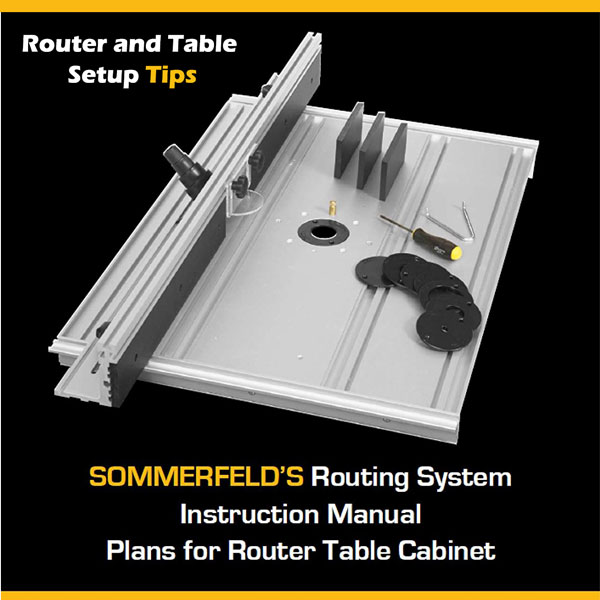 Router and Table Setup Tips