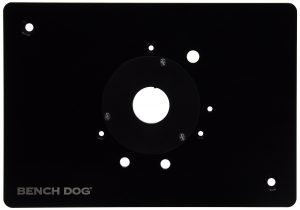 The Bench Dog 40-140 Pro Plate Standard in black