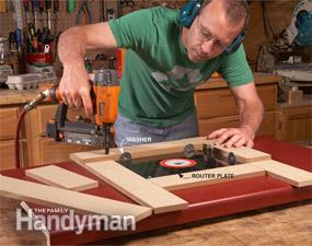 Family Handyman Upcycled Router Table