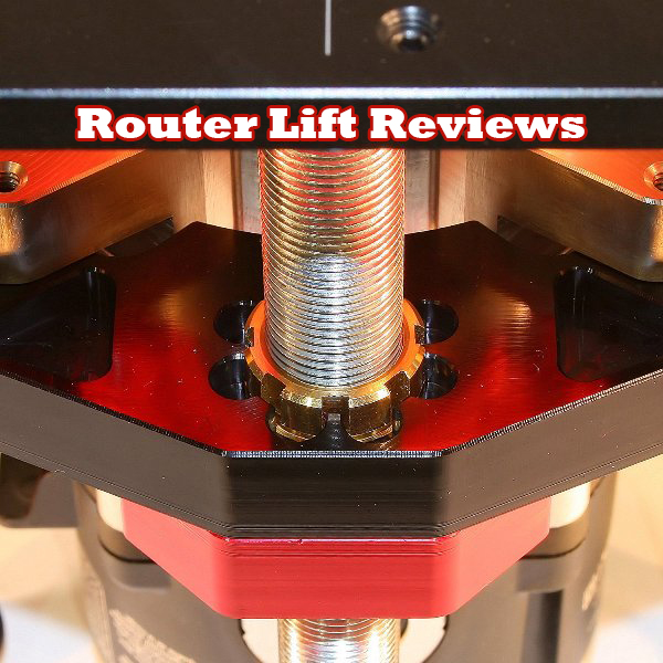 A close up shot of a Router Lift