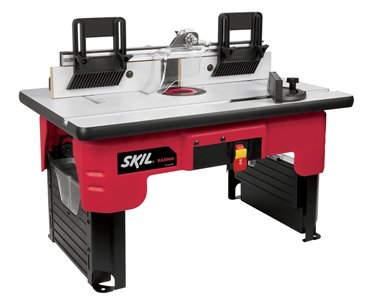 A SKIL Router Table on a white background